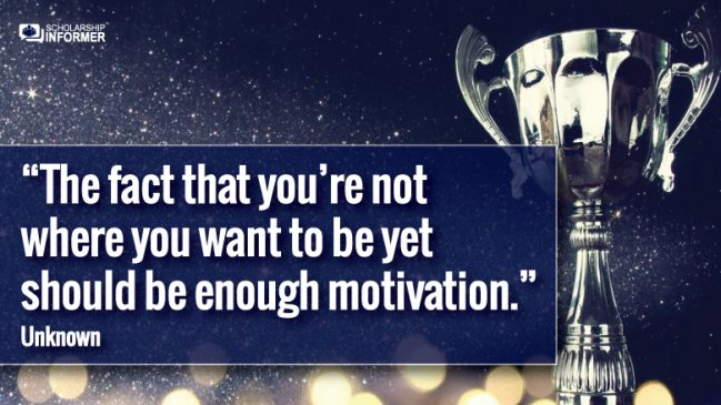 25 Motivational Quotes To Inspire Your Scholarship Journey